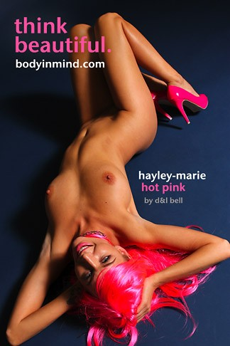 Hayley-Marie - `Hot Pink` - by D & L Bell for BODYINMIND