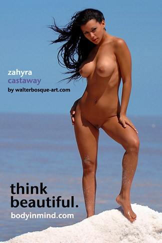 Zahyra - `Castaway` - by Walter Bosque for BODYINMIND