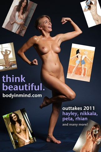 Nikkala Stott & Rhian Sugden & Hayley Marie Coppin & Peta Todd & Kelly Hall & Rachelle Wilde & Ashley Perry & Peyton Priestly & Alece & Cat & Laura C - `Outtakes 2011` - for BODYINMIND