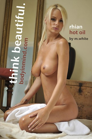 Rhian Sugden - `Hot Oil` - by Michael White for BODYINMIND