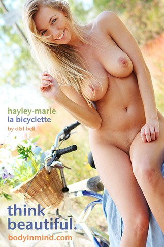 Hayley-Marie - `La Bicyclette` - by D & L Bell for BODYINMIND