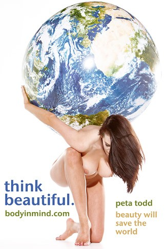Peta Todd - `Beauty Will Save The World` - by Paul Buceta for BODYINMIND