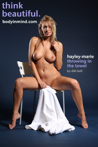 Hayley-Marie - `Throwing In The Towel` - by D & L Bell for BODYINMIND