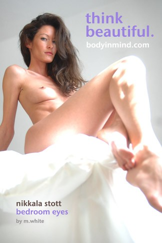 Nikkala Stott - `Bedroom Eyes` - by Michael White for BODYINMIND