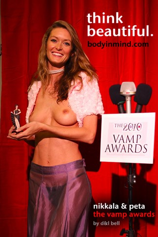 Nikkala & Peta - `The Vamp Awards` - by D & L Bell for BODYINMIND