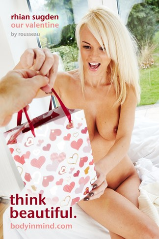 Rhian Sugden - `Our Valentine` - by Leon Russeau for BODYINMIND