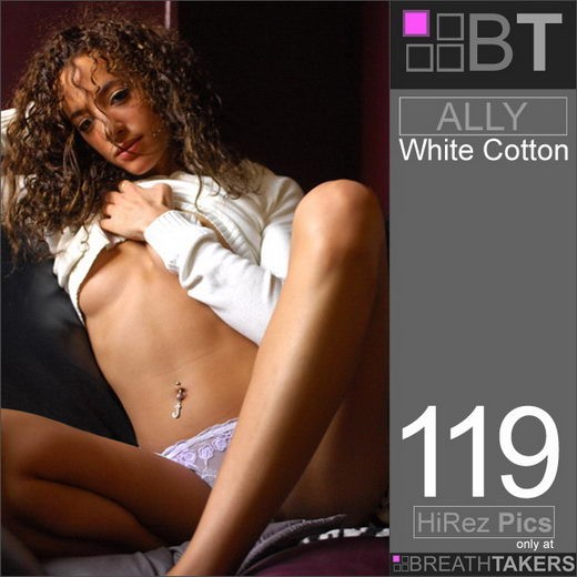 Ally - `White Cotton` - for BREATH-TAKERS ARCHIVES