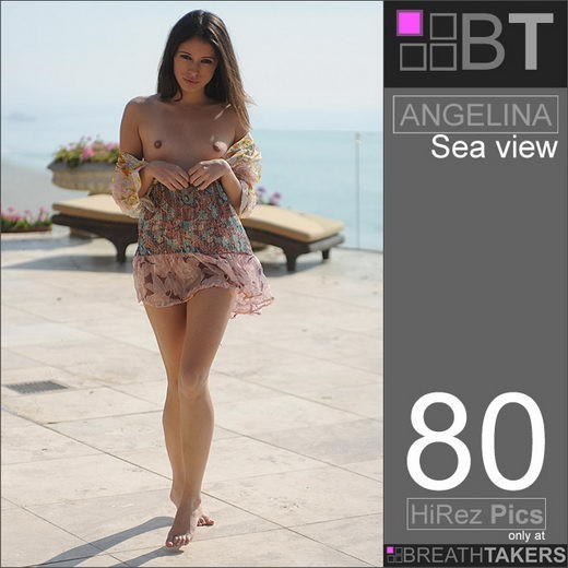 Angelina - `Sea View` - for BREATH-TAKERS ARCHIVES