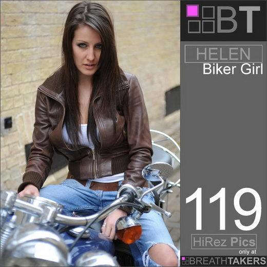 Helen - `Biker Girl` - for BREATH-TAKERS ARCHIVES
