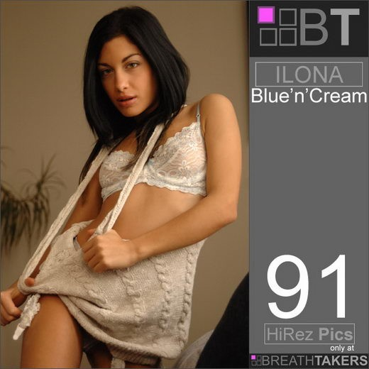 Ilona - `Blue'n'Cream` - for BREATH-TAKERS ARCHIVES