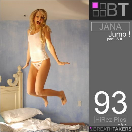 Jana - `Jump` - for BREATH-TAKERS ARCHIVES