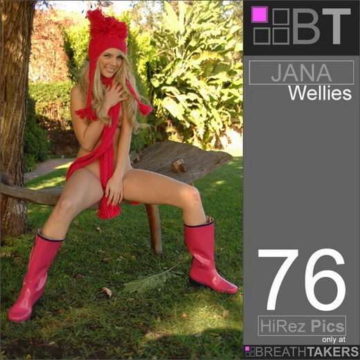 Jana - `Wellies` - for BREATH-TAKERS ARCHIVES