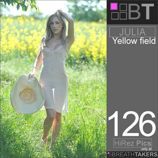 Julia - `Yellow Field` - for BREATH-TAKERS ARCHIVES