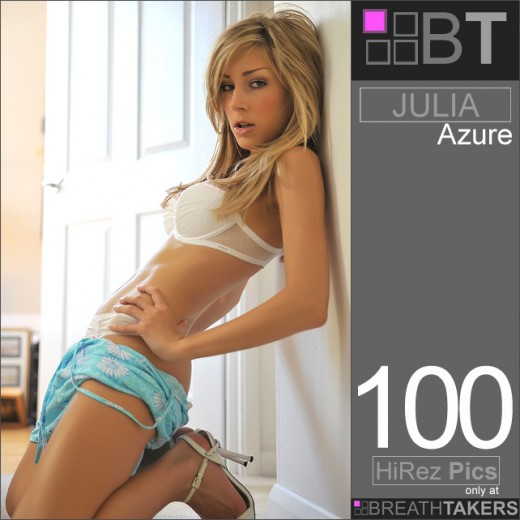 Julia - `Azure` - for BREATH-TAKERS ARCHIVES