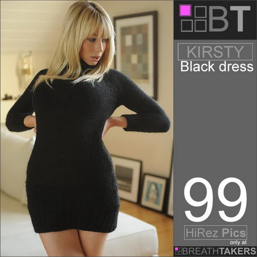 Kirsty - `Black Dress` - for BREATH-TAKERS ARCHIVES