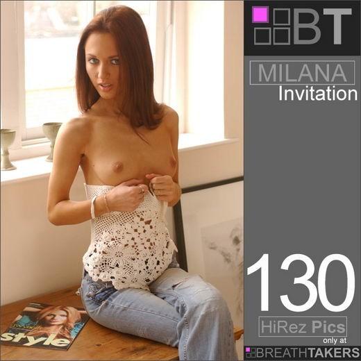 Milana - `Invitation` - for BREATH-TAKERS ARCHIVES