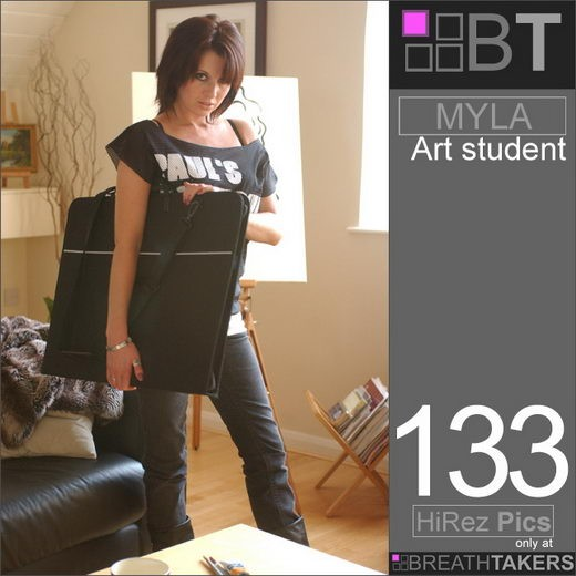 Myla - `Art Student` - for BREATH-TAKERS ARCHIVES