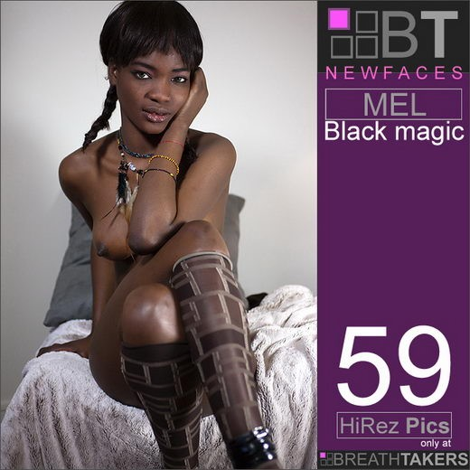 Mel - `Black Magic` - for BREATH-TAKERS ARCHIVES