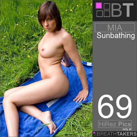 Mia - `Sunbathing` - for BREATH-TAKERS ARCHIVES