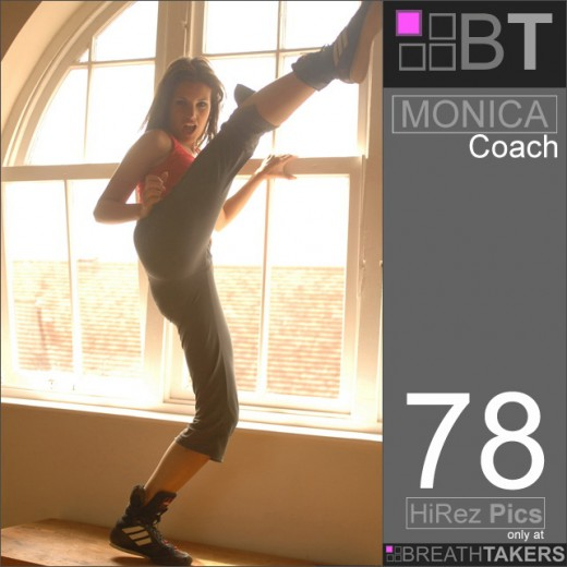 Monica - `Coach` - for BREATH-TAKERS ARCHIVES