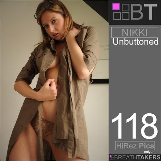 Nikki - `Unbuttoned` - for BREATH-TAKERS ARCHIVES