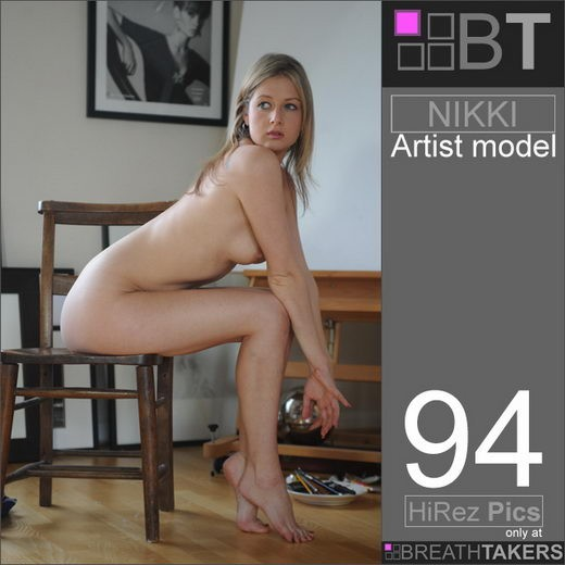 Nikki - `Artist Model` - for BREATH-TAKERS ARCHIVES