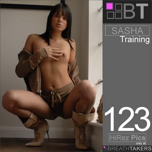 Sasha - `Training` - for BREATH-TAKERS ARCHIVES