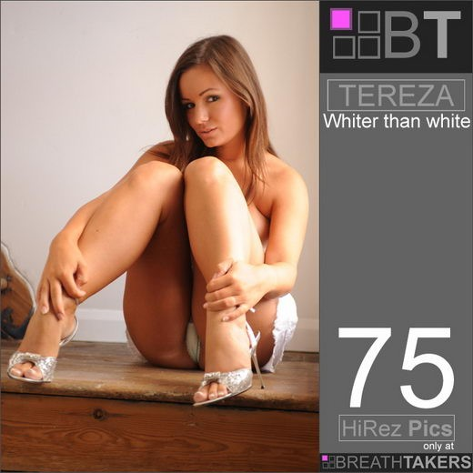 Tereza - `Whiter than White` - for BREATH-TAKERS ARCHIVES