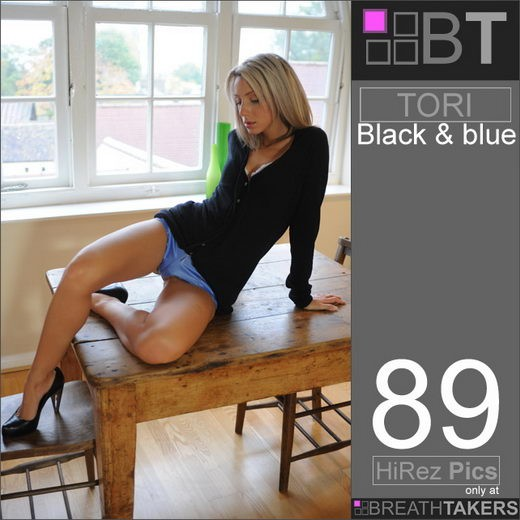 Tori - `Black & Blue` - for BREATH-TAKERS ARCHIVES