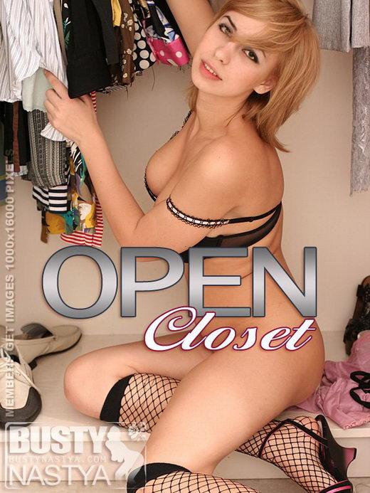 Nastya - `Open Closet` - for BUSTYNASTYA