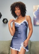 Black Beauty Misty Stone Masturbates With Her Fingers!