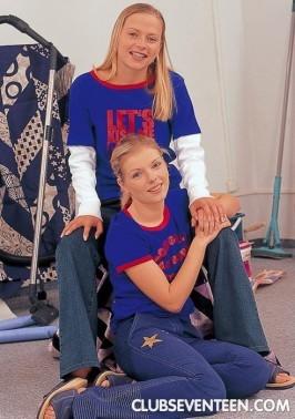 Petra D & Petra H  from CLUBSEVENTEEN