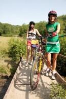 Samantha L & Debbie E - Sporty Teens 075