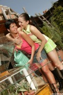 Kelly I & Brenda L in Schoolgirls Holiday 153 gallery from CLUBSEVENTEEN