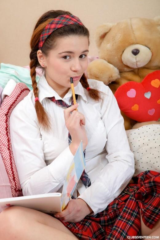 Maggie C In Schoolgirls 211 For Clubseventeen-1027
