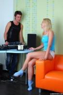 Milana has sex with the DJ