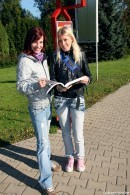 Kathy I & Leila B - Lesbian anatomy lessons
