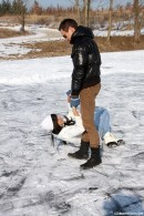 Ice skating lessons for Susan
