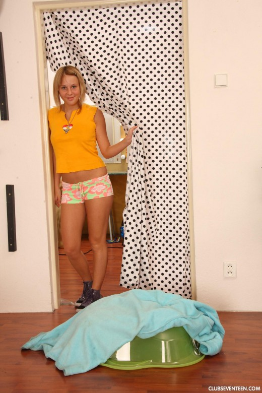 Cora A in Blondes 272 gallery from CLUBSEVENTEEN