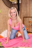 Bella D - Two pink balls give pleasure