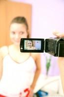 Tess C - Tess filmed her best friend Anita pleases herself