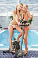 Tara G & Yasmin A - 2 stunning hot teens can't get enough of each other