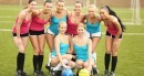 Lilly P & Cayla A & Violette & Tess C & Bailey & Naomi I & Nessy & Vanessa P - World cup kick off