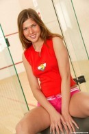 Olivia C - Olivia masturbates in squash hall
