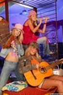 Megan A & Lucie A & Samantha E - Young lesbian musicians