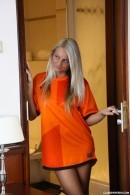 Jessie C - Jessie masturbating in a football jersey
