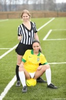 Violette & Bailey - Brazilian player fucking the referee