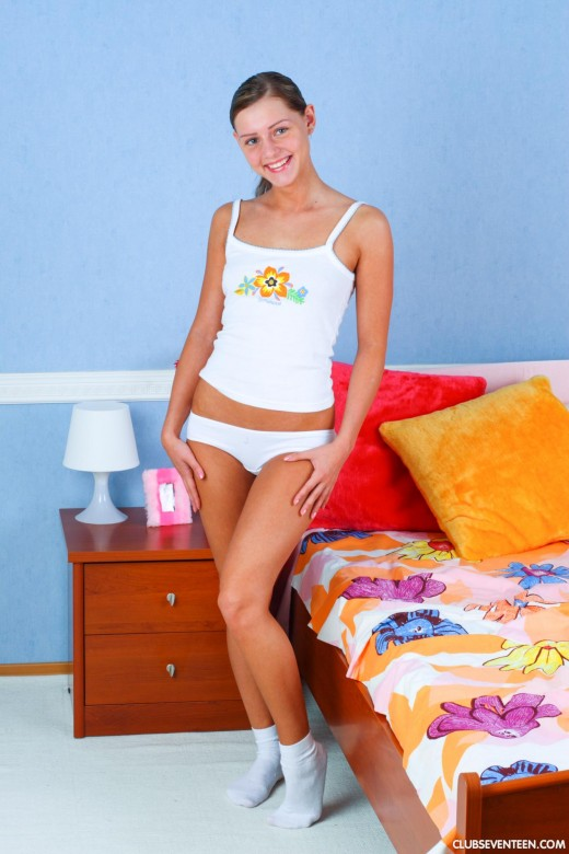 Cloe B in Beautiful tanned fresh teen gallery from CLUBSEVENTEEN