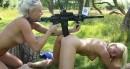 Jessie C & Naomi I - Naked girls with guns