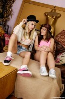 Chloe E & Kacie - Beautiful shaved girlfriends